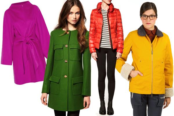 Renkli Ceket Modelleri