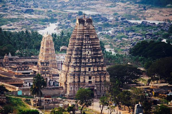 Virupaksha Tapınağı- Hindistan