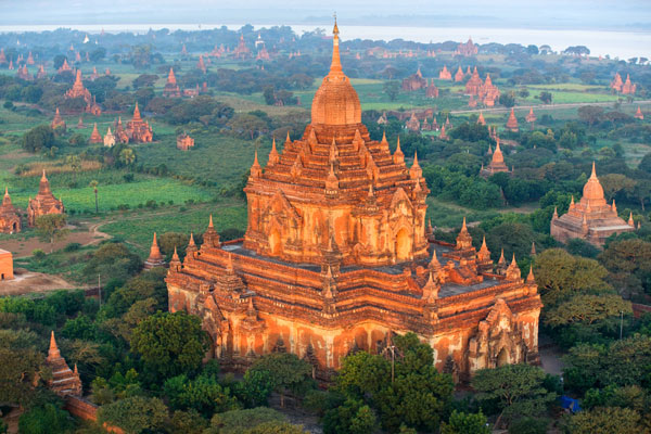 Bagan Şehri - Burma(Myanmar)