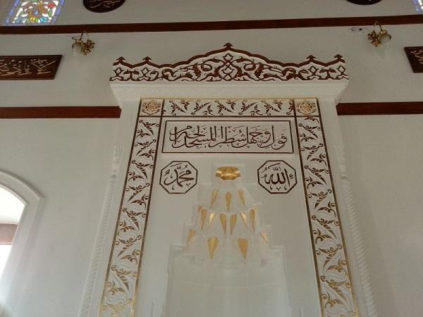 cami dekorasyonu