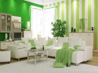 dekorasyonda yeşil renk trend