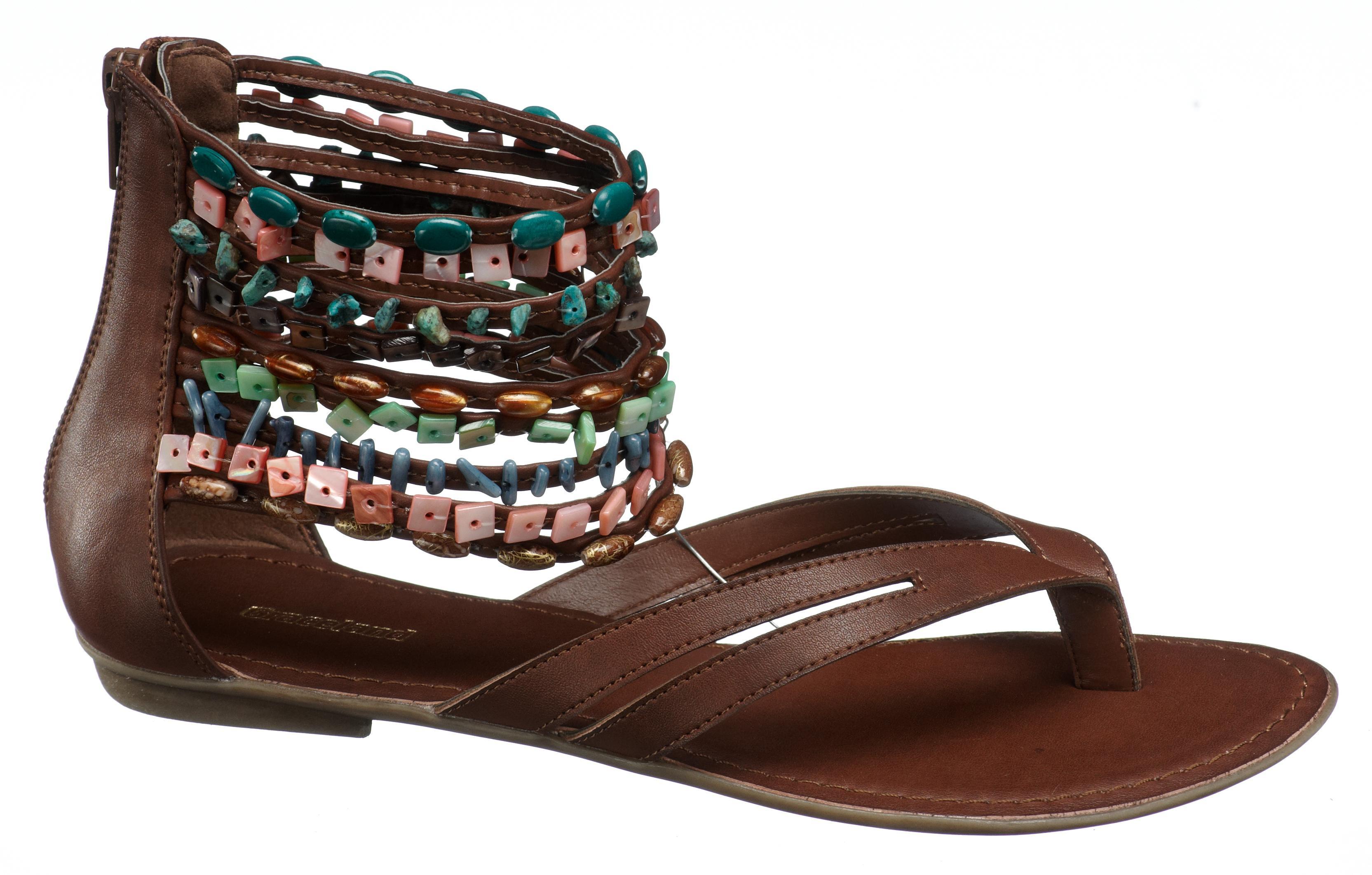 gladyatör sandaletleri