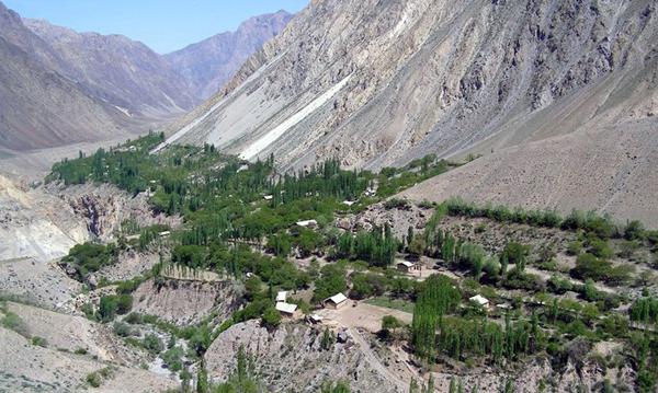 kırgizistan köy
