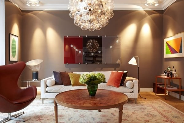 Modern Salon Dekorasyonu