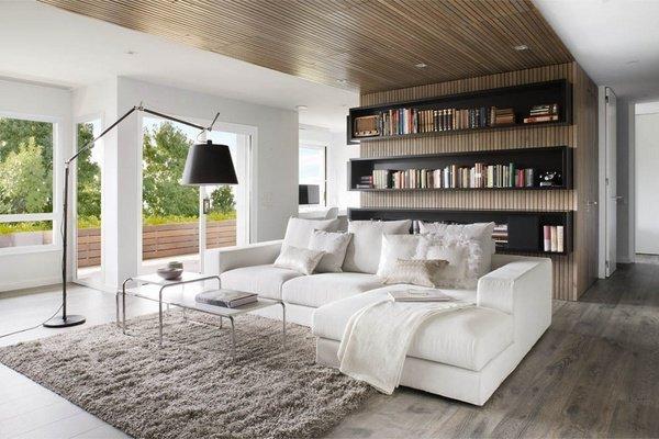 modern salon dekoru
