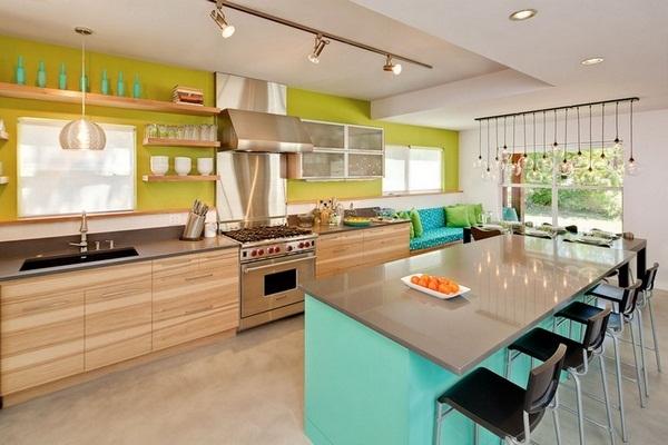 renkli mutfak modelleri